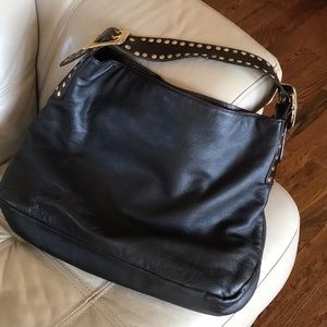Be&D Crawford Leather Hobo Brown